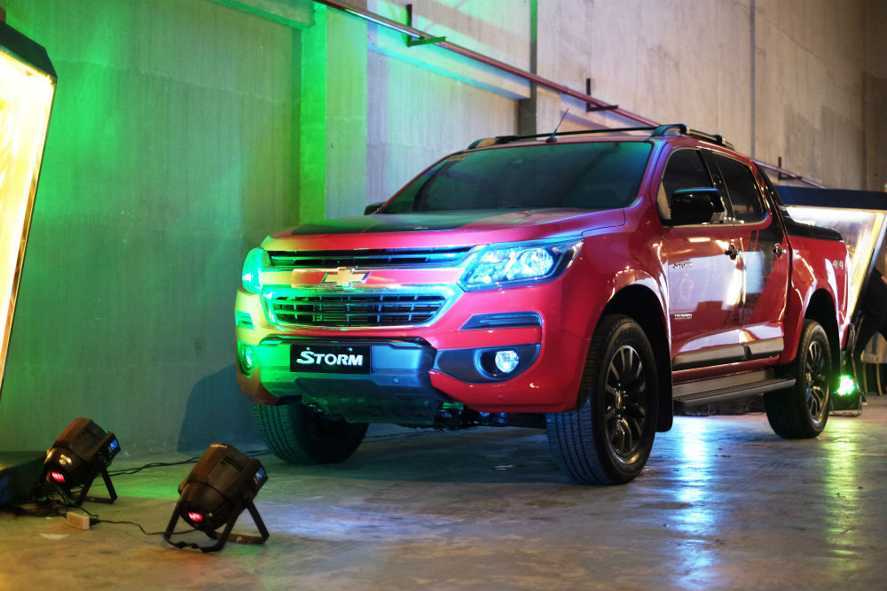 Chevrolet Introduces New Colorado High Country Storm Plus