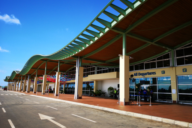 NEW BOHOL AIRPORT. The Bohol-Panglao International Airport will be the sole commercial airport servicing the province starting November 28, 2018. Photo from Cebu Pacific