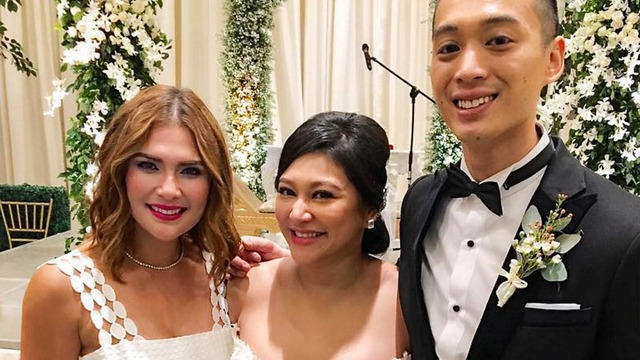 in photos rufa mae quinto and trevor magallanes get married