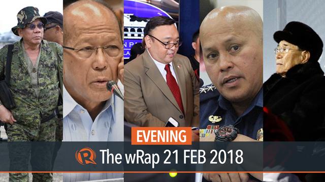 Duterte on Ranada, Lorenzana on PSG, Napolcom on Dela Rosa   Evening wRap