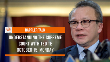 bee6a7e01ae1 Rappler Talk  Understanding the Supreme Court with Ted Te
