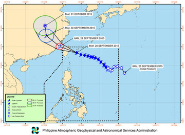 Typhoon Jenny to bring rains to parts of Luzon, Visayas