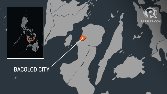 Dead Injured In Bacolod Road Accident - Bacolod map