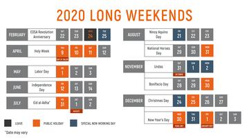 May long weekend 2020