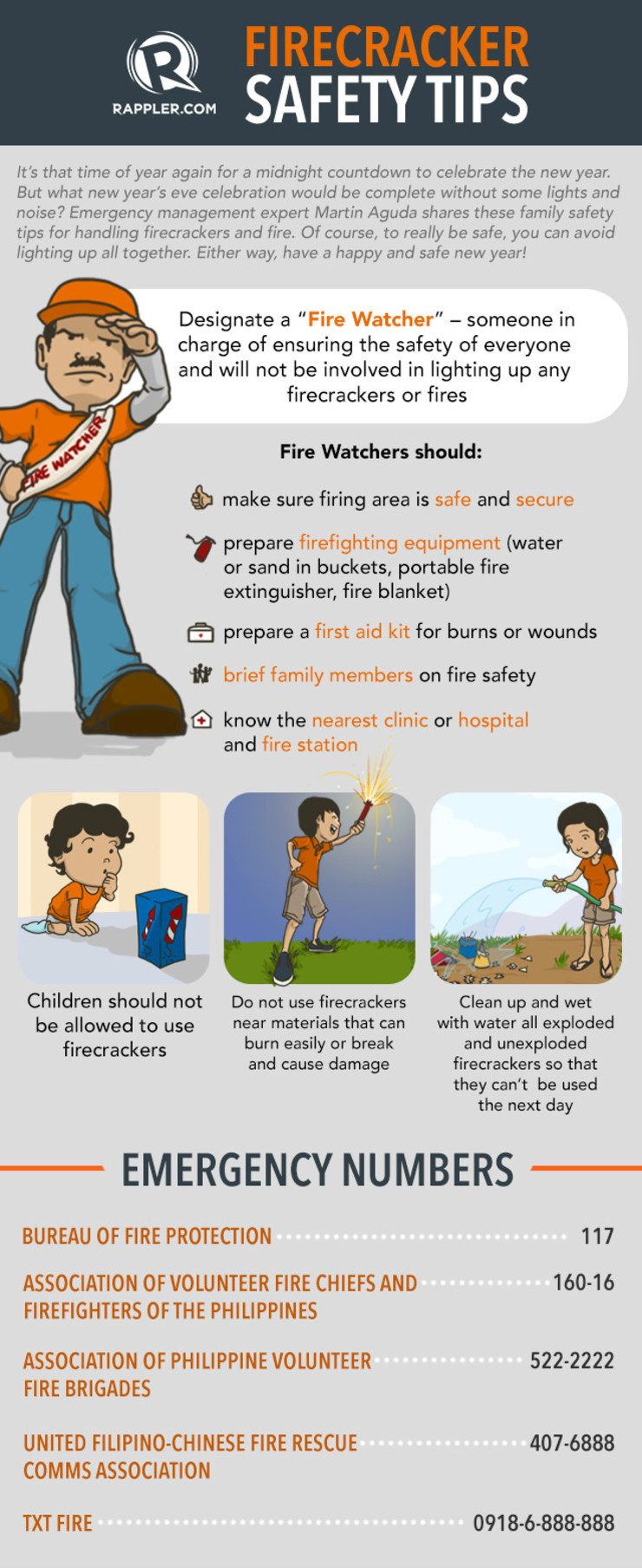 How to handle firecrackers safely this new year's eve