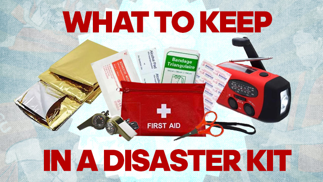 Here's how to build your own emergency kit
