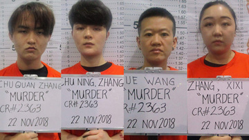 Cops arrest 4 Chinese over gruesome killing in Makati condo