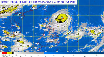 Stormy weather for Northern Luzon on Thursday