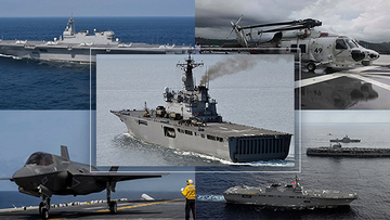 OPINION] Projecting military power: Japan's carrier fleet reborn
