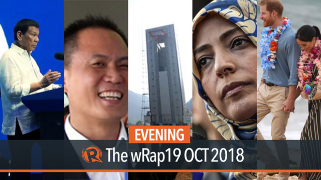 Duterte on frigates issue, Michael Yang, Harry and Meghan | Evening wRap
