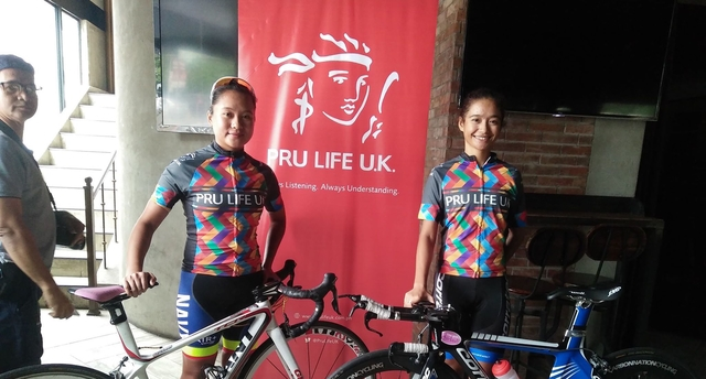 3e2d030ff ... National Road Race Championships. GIRL POWER. Jermyn Prado (left) and  Jeremy Maraña represent the Philippines