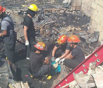 Kids, mother embracing baby found after Cebu fire