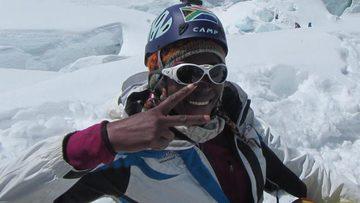 First black African woman makes landmark Everest summit