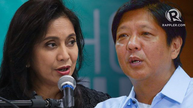Robredo to SC: Stop Marcos from skirting rules in his 'dying' VP protest