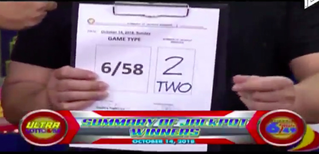 JACKPOT. The Philippine Charity Sweepstakes Office says two winners will take home the biggest lotto jackpot in history. Screenshot from the PCSO's YouTube video