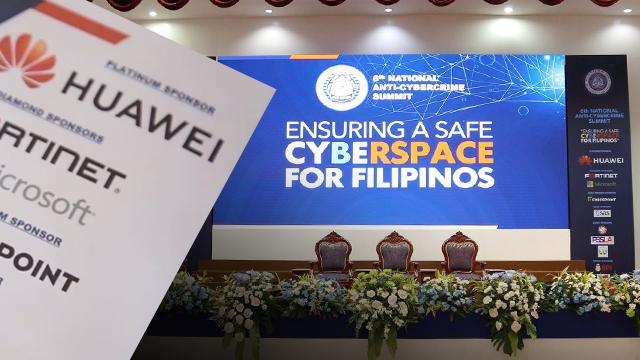 Huawei biggest sponsor in PNP's anti-cybercrime summit
