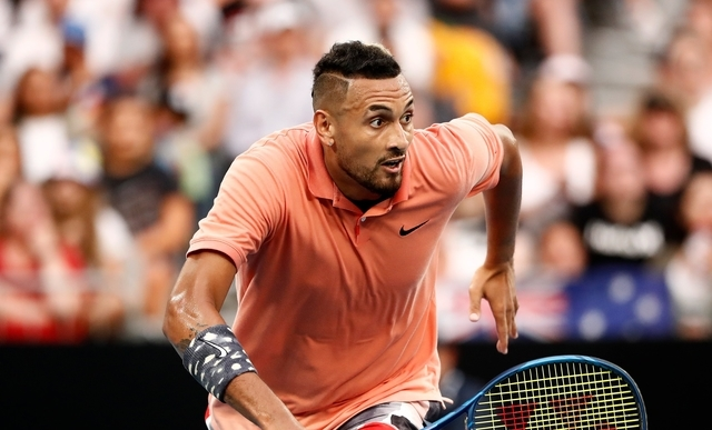 Kyrgios sets up Nadal showdown after Australian Open escape