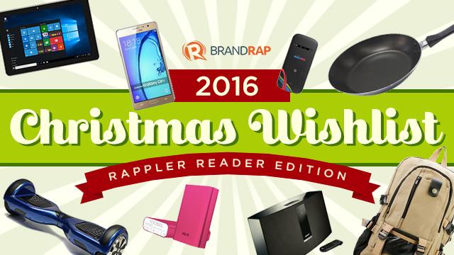 Christmas 2016 wishlist Our readers picks – Sample Christmas Wish List