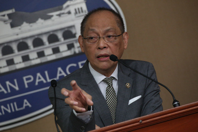 NOT WORRIED. 'At this time, I'm not worried about what's going to happen,' says Budget Secretary Benjamin Diokno on the proposed 2018 national budget. File photo