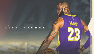 finest selection e4dcf ad2bf It's official: LeBron James a Laker
