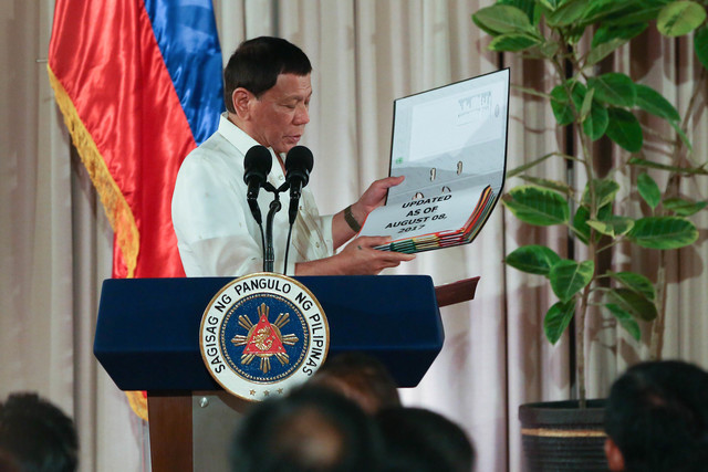 Narco List 2019 Image: Duterte Narco List Now 6,000 Names Long And Counting