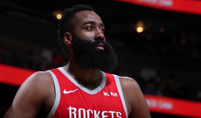7191c81b5c6 Harden first in NBA history to drop 30 vs all 29 foes in same season