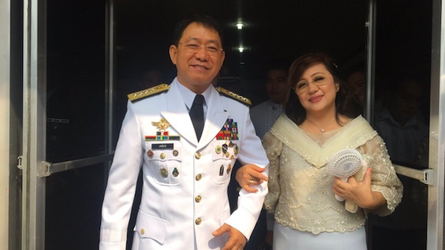 RETIRED. Armed Forces chief General Eduardo Año retires on Thursday, October 26. Rappler photo