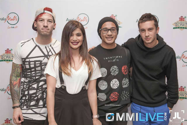 In photos twenty one pilots meets ph fans m4hsunfo
