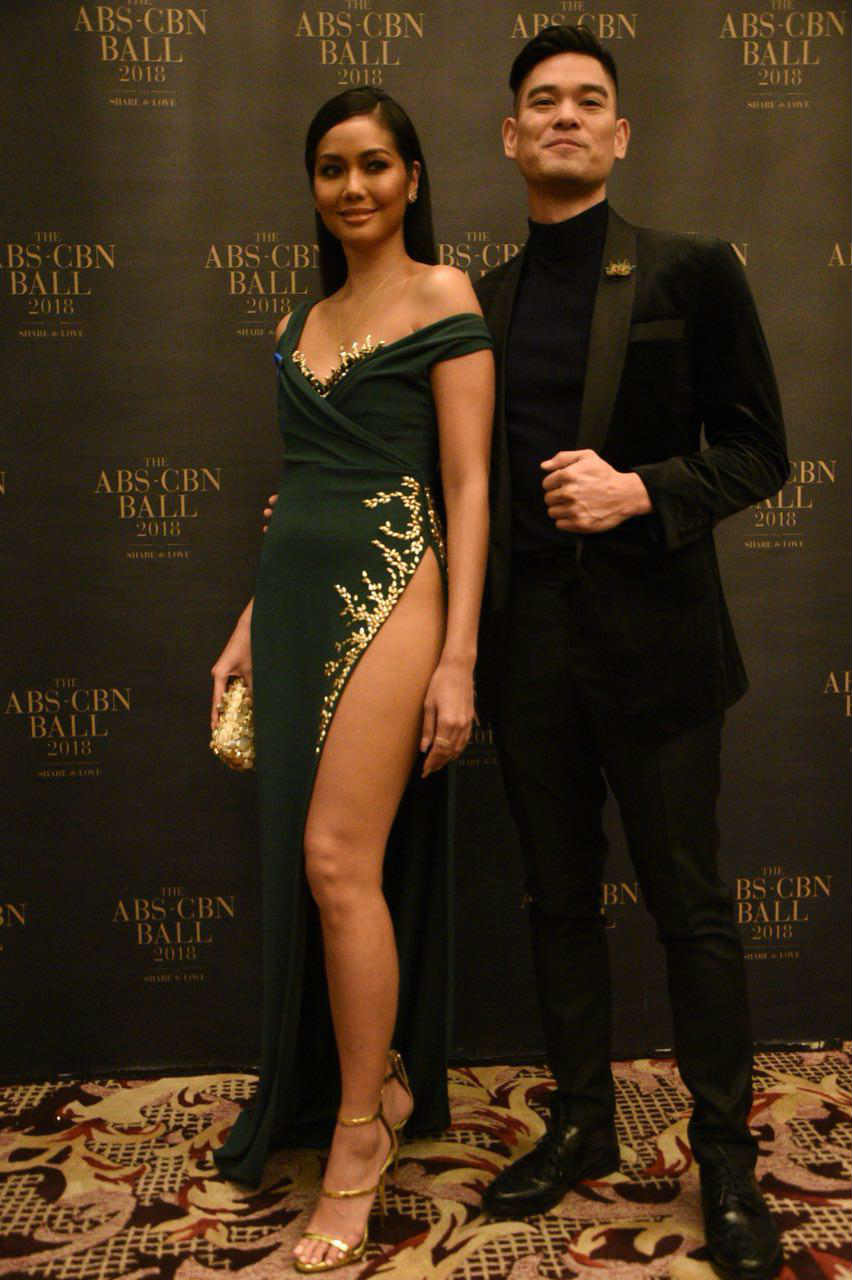 In Photos Reel And Real Life Couples At The Abs Cbn Ball