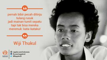 5 Puisi Wiji Thukul Yang Masih Relevan Hingga Sekarang