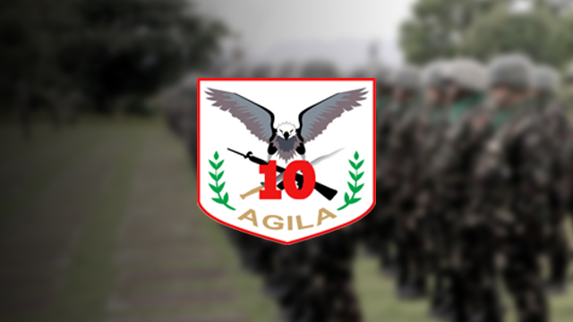RECRUITMENT. Lumad recruits will join the 10th Infantry Division once they complete training. Photo from the Facebook page of the 10th Infantry Agila Division Philippine Army
