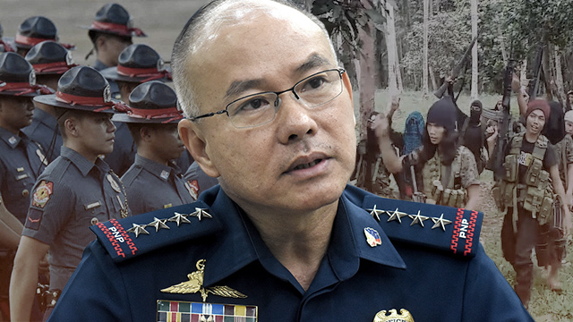 COUNTERTERROR PLAN. PNP chief Oscar Albayalde says they've been busy preparing a campaign plan against terrorism