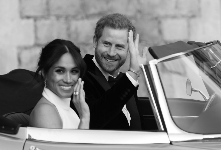 Harry and meghan thank royal wedding guests