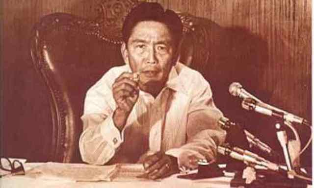 20-YEAR RULE. Malacañang file photo of the late President Ferdinand Marcos