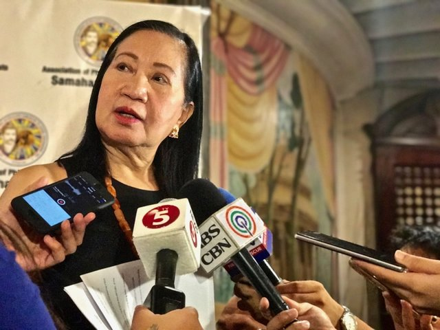 POGO HUBS. Pagcor Chairperson Andrea Domingo says the proposed POGO hubs will protect Chinese workers. Photo by Rambo Talabong/Rappler