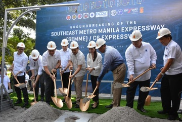 San Miguel to start building Southeast Metro Manila Expressway in April