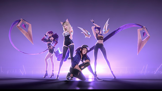 league of legends introduces virtual k pop girl group k da. Black Bedroom Furniture Sets. Home Design Ideas