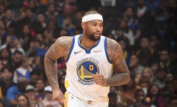 huge discount fb6a0 494e3 Warriors' Cousins out indefinitely after muscle tear