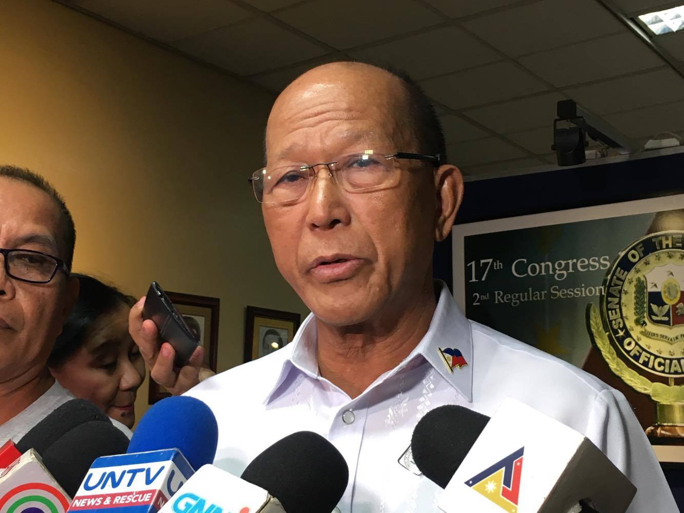Lorenzana favors full CHR budget, says it makes AFP, PNP 'careful'