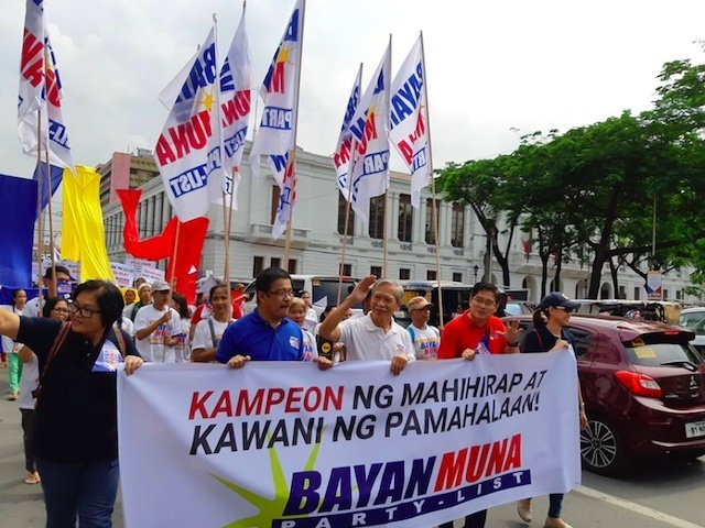 SWEET VICTORY. Bayan Muna ranks second in the 2019 party-list elections despite government's campaign against it. Photo from the Facebook page of Bayan Muna