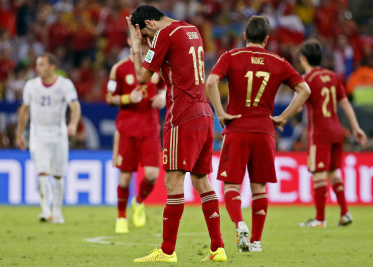 feedf16c254 World Cup: North Korea lambasts Spain's 'worn-out' tiki-taka