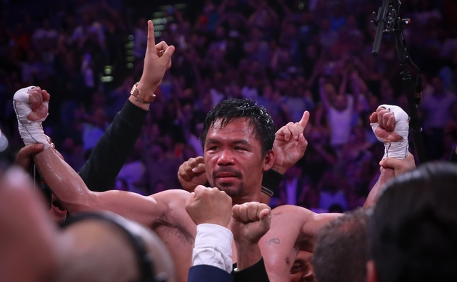 Roach hints it's time for Pacquiao to retire