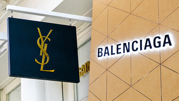 Image result for yves saint laurent and balenciaga