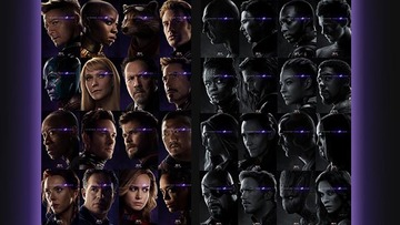 Look Avengers Endgame Character Posters Reveal Who Ve Been