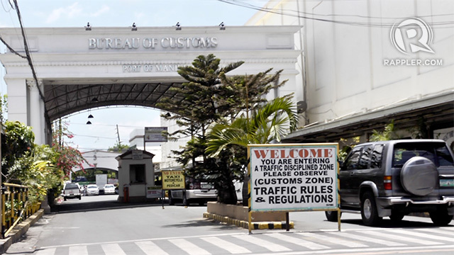 MILITARY TAKEOVER? President Rodrigo wants a military takeover of the Bureau of Customs following scandals of billions worth of shabu getting past the bureau's watch for two consecutive years. Photo by Rappler