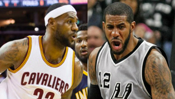 detailed look 5c125 8f5a6 Spurs beat injury-riddled Warriors, LeBron James lifts Cavaliers