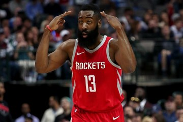 5dfb9c349e9 James Harden  13 of the Houston Rockets in this file photo during