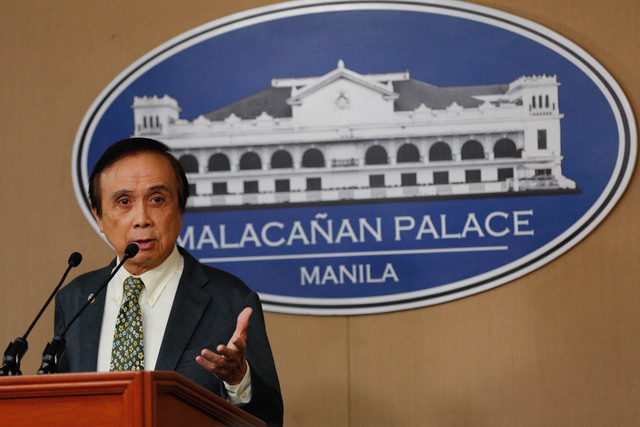 MORE AGGRESSIVE. 'I want a more aggressive liberalization. The draft list is too puny in terms of changes. I want to be more aggressive and to be at par with other ASEAN countries,' Socioeconomic Planning Secretary Ernesto Pernia says. File photo