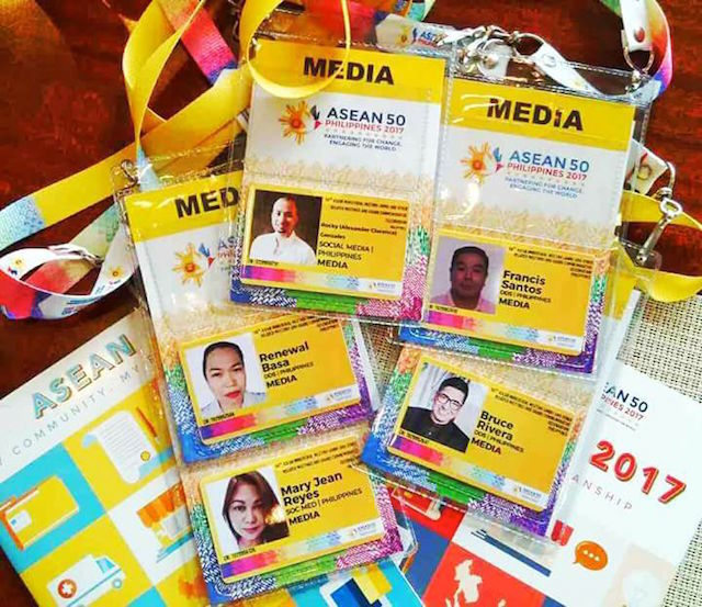ACCREDITATION. Malacañang offers media access to pro-Duterte bloggers under a 'DDS' organization. Photo sourced from Facebook