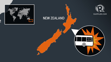 5 Chinese tourists killed in New Zealand bus crash